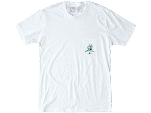 Hippy Tree Grovewood T-shirt Herrer, white